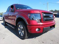 New 2013 Ford F-150 FX4 Red Truck at http://prescottbrothersford.com