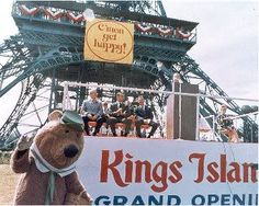 King's Island grand opening Mason , OH 1972 Summer Memories, My Childhood Memories, Kings Island Cincinnati, Middletown Ohio, Old King, Abandoned Cities, Amusement Park Rides, Old Churches, Vintage Postcards
