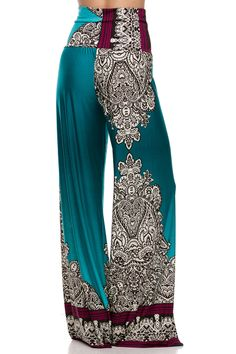 I have to have these with 2 Wedge open toed white or beige show and the perfect open back or drop shoulder top. Gypsy Style, My Style, Boho Gypsy, Boho Fashion, Fashion Outfits, Womens Fashion, Pallazo Pants, Elegant Outfit, Boho Chic