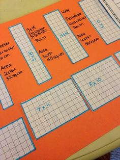 Using area and perimeter to find specific shapes! STEM Challenge! #STEM #Engineering #teacherspayteachers