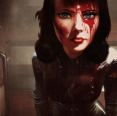 Burial at Sea - Gamer House Ideas 2019 - 2020 Bioshock Tattoo, Bioshock Art, Bioshock Series, Bioshock Infinite Elizabeth, Elizabeth Comstock, Gamer Tattoos, Vampire Masquerade, Nerd Art, Video Game Art