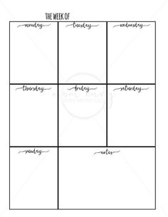 Weekly Planner Printable and Daily Planner Printable Free Weekly Planner Inserts & Daily Inserts - Available in 3 Sizes Get more photo about subject r. To Do Planner, Planner Layout, Free Planner, Planner Pages, Happy Planner, College Planner, College Tips, Weekly Planner Template, Daily Planner Printable
