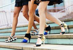Fashion Week footwear