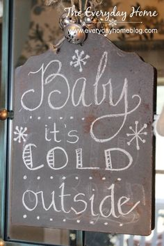 Four Winter DIY Projects-from The Everyday Home