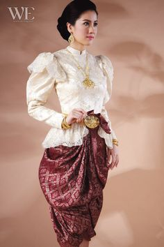 Thai wedding dress