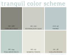 Tranquil Color Scheme