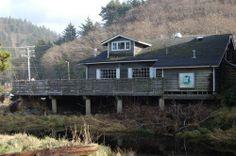 Hawk Creek Cafe in Neskowin...YUM