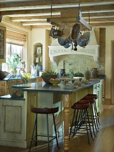 English-country Kitchens from Barry Dixon on HGTV