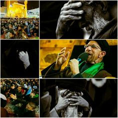 [ The  Martyrdom Nights Of Safar 1437 ]  Moments from Masjalis Aaza to Commemorates the Martyrdoms for the month of Safar In Imam Ali Holy Shrine
