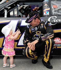 Look, Daddy ... NASCAR Sprint Cup Drivers Have Family Support   via FOXsports.com