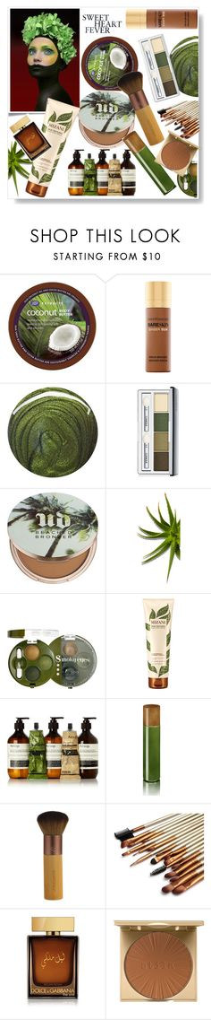 """Bronzing time"" by gul07 ❤ liked on Polyvore featuring beauty, Boots Extracts, Bare Escentuals, Jin Soon, Clinique, Urban Decay, Bourjois, Mizani, Aesop and DayNa Decker"