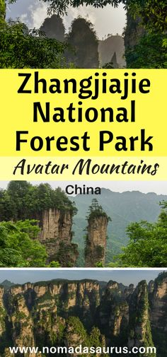 Have you seen the movie Avatar? Who would have thought the landscape was real? We visited Zhangjiajie National Park in China and it blew our minds. Check out our post and see why. A place not to miss of your list of places to visit in China. One of the best attractions in China. #China #hiking