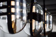 Harness lamps by Kateřina Handlová