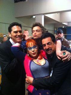 Some of the Criminal Minds cast