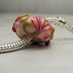 Handmade Lampwork Glass Beads  European by StoneDesignsbySheila, $12.00