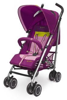 Be different and stand out from the crowd - for example, with a CYBEX Onyx in fresh, contrasting colours. Equipped with an XXL canopy and a one-hand recline system, this is lightweight runabout combines good looks, comofort, and ease of use. Like the other top models, the Onyx can be collapsed to a practical size and used as a travel sytem in combination with one of our infant baby seats.