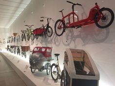 Helen Reid went to visit the exhibition which explores cycling in all its glory...