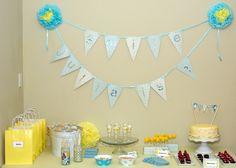 Mesas de postres para celebrar el Baby shower. #fotos.  Post de @Pilar Hernandez-Enmicocinahoy