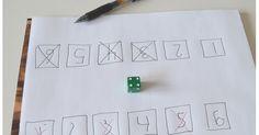 Världens enklaste tärningsspel tränar taluppfattning och talmönster