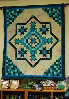 LOVE the pattern, different colours though for my bedroom. Irish ... : irish mist quilt - Adamdwight.com