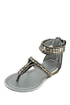 Beaded Tile Sandal