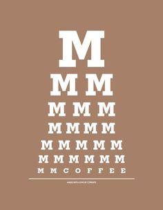 I see coffee.