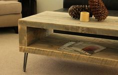 Reclaimed Wood Coffee Tables | Recycled Things