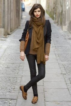 Get Your Scarf On/Fall Feature