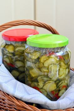 Preserves, Pickles, Cucumber, Salads, Food, Canning, Preserve, Essen, Preserving Food
