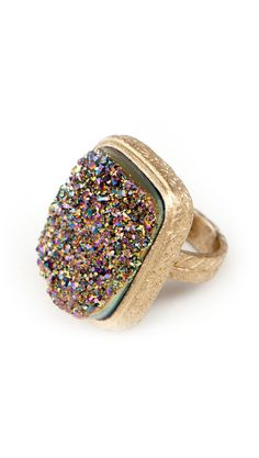 Love the different colors in this ring.
