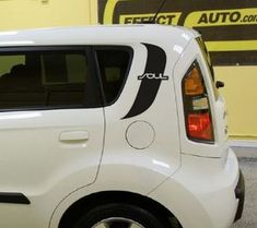 Rear window panel vinyl graphics decal decals fits Kia Soul