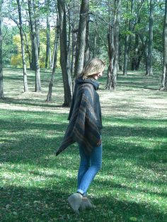 Ponchos create easy style and warmth.