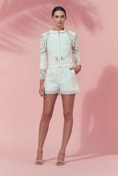 Matea Designs PELE JACKET White | One Honey Boutique