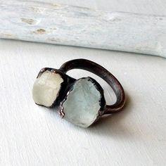 http://www.etsy.com/listing/93283779/copper-ring-topaz-crystal-cream-nougat