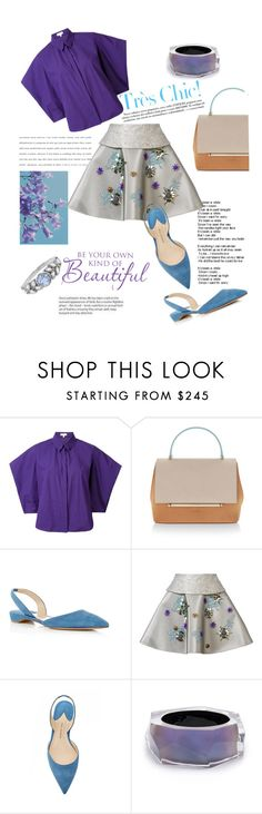 """""""oh, so Delpozo"""" by cranetattoo on Polyvore featuring Delpozo, Paul Andrew, Alexis Bittar and Cathy Waterman"""