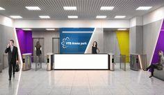 VTB Arena Park Reception | HAAST Architectural Bureau | Reception Zone Design