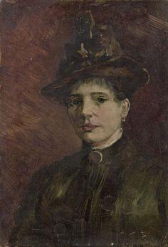 Portrait of a Woman, Vincent van Gogh, Van Gogh Museum, Amsterdam (Vincent van Gogh Foundation), View this artwork Vincent Van Gogh, Artist Van Gogh, Van Gogh Art, Monet, Van Gogh Museum, Art Van, Rembrandt, Van Gogh Portraits, Art Gallery
