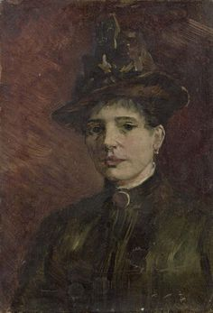 Vincent van Gogh, Portrait of a woman, 1886-03 Paris