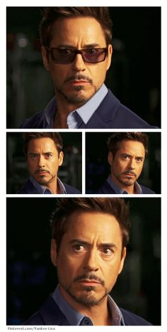 """Robert Downey Jr.! """"I think that was more extensive than extended."""" Lol"""