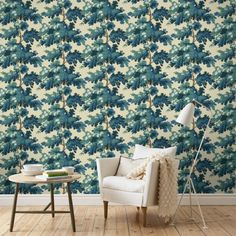 The wallpaper Raphaël Mörkblå - from Sandberg is wallpaper with the dimensions m x m. The wallpaper Raphaël Mörkblå - belongs to the pop Dark Blue Wallpaper, Blue Wallpapers, Classic Decor, Fabric Wallpaper, Bedroom Colors, Decoration, Home And Living, Wall Decor, Wall Art
