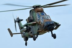Tiger HAD helicopter, French Army ALAT, Photo : André Bour