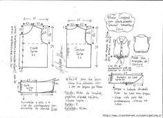Toddler Dress Patterns, Sewing Patterns For Kids, Dress Sewing Patterns, Sewing For Kids, Doll Patterns, Clothing Patterns, Sewing Kids Clothes, Fashion Templates, Pattern Making