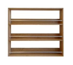 Solid Oak Wooden Spice and Herb Rack with 3 shelves Kitchen / Display Unit.  The spice rack is available in widths from 24.5 cm to 56 cm and holds from up to 15 to 36 Schwartz, Bart, McCormick, Ducros, Ikea, Kilner and supermarket spice and herb jars. It can also be used for displaying other items such as nail polish, collectibles, etc.  The spice rack has been designed and hand made in our workshop by our experienced craftsmen and is built to be strong and sturdy, using strong housed…