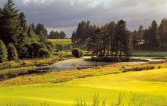 Perth Scotland Gleneagles Golf course