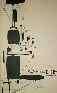 Vtg 1965 Futuristic Art by Syd Mead for Celcon Steel Couture Kronolog Science | eBay