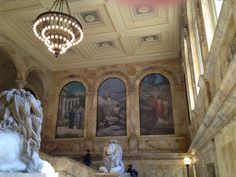 Boston Public Library main stairs. Photo by Carly Carson