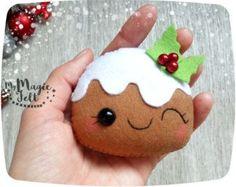 Adornos navideños fieltro fieltro de árbol de por MyMagicFelt