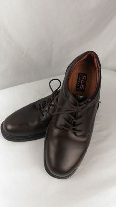 8b75cf185 Florsheim Brown Leather Lace Up Oxford Waterproof Shoes Size 11 D   Florsheim  Oxfords Waterproof