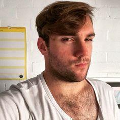 Looking suspicious #suspicious #chesthair #weekend #gay #scruff