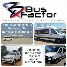 Vehicle fleet rentals and management  All vehicles! Sedan, 4x4, Quantums, Coaches